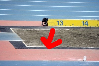 Long jump pit 2_arrow
